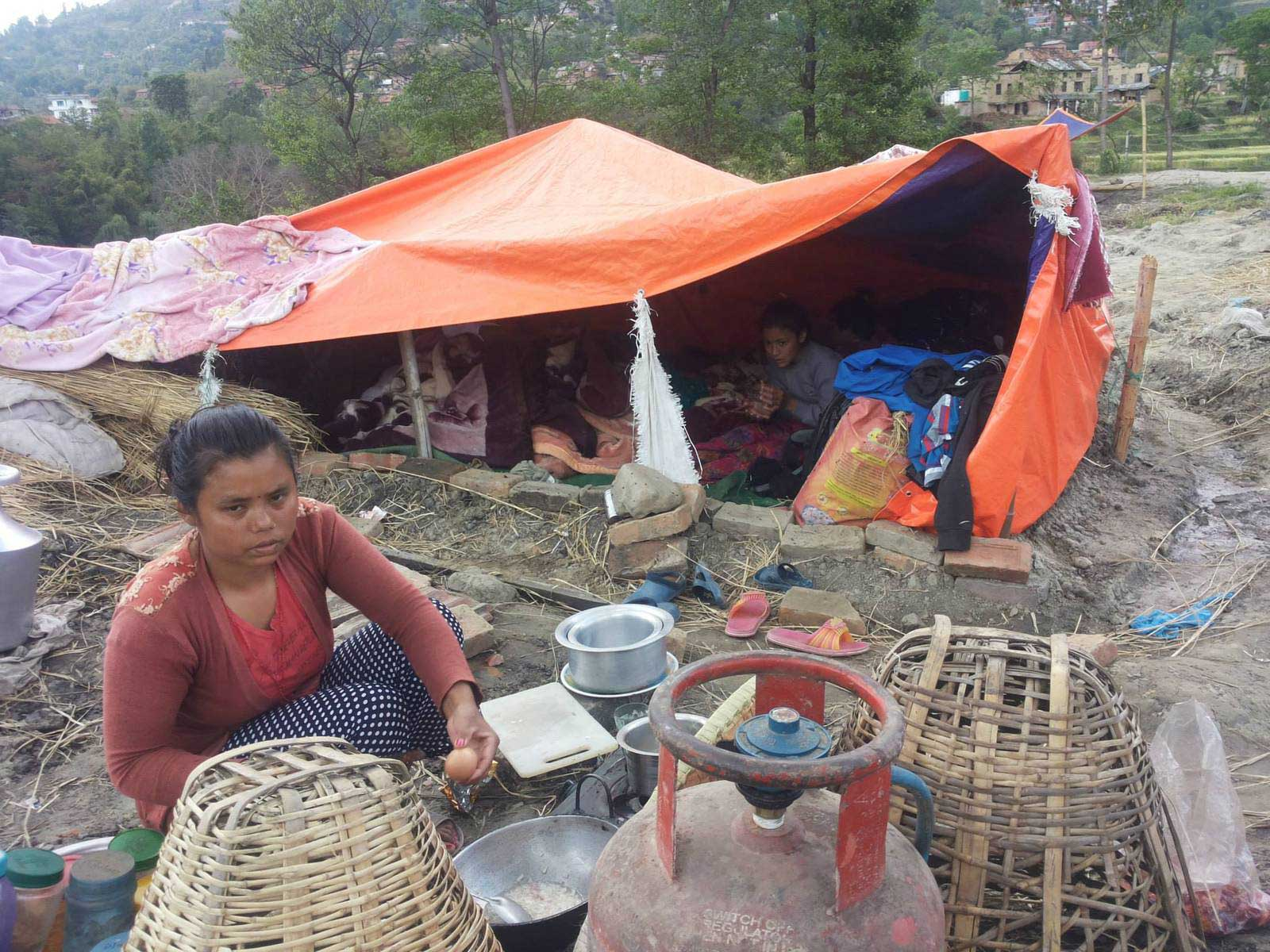 Nepal-Erdbebenzelte-web