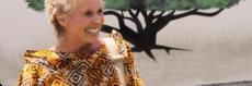 Africa Amini Alama Treffen mit Chr. Wallner