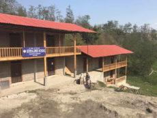 Nepal: erfreuliche bauliche Fortschritte
