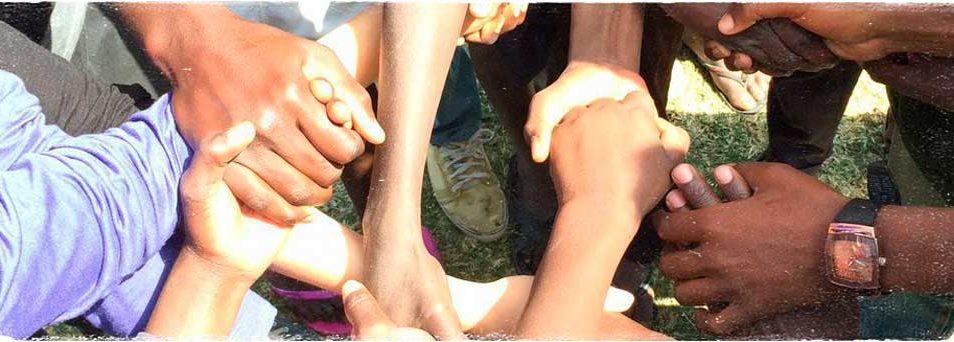 Africa Amini Alama Freiwilligentreffen