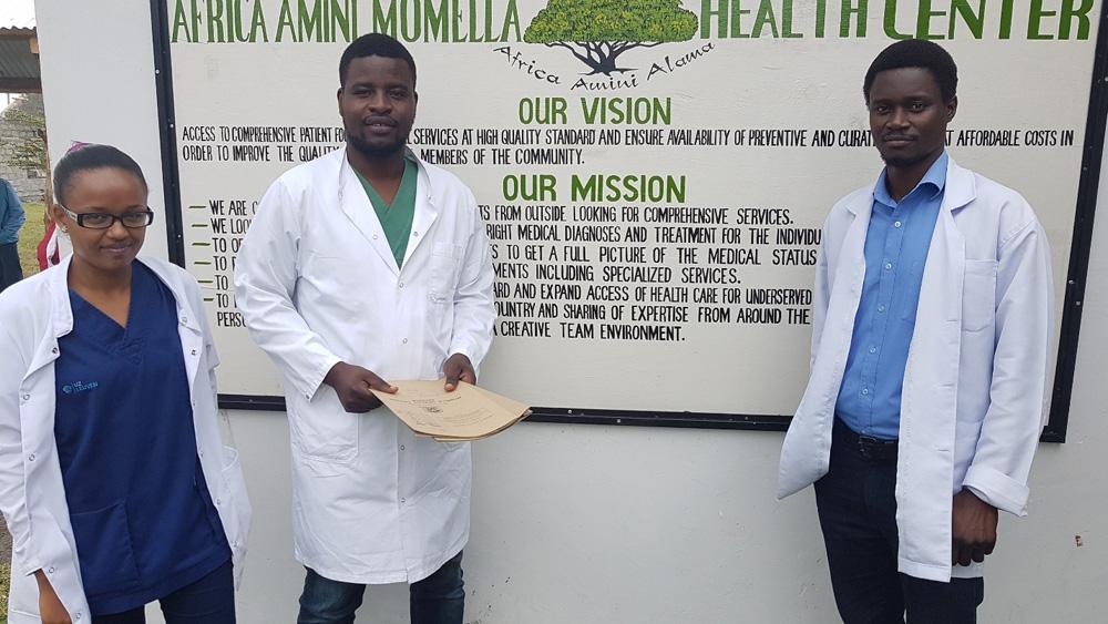 AAA: Von einer einfachen Krankenstation zum Health Center…