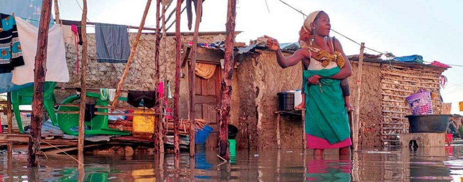 Mosambik: Hilfsaktion für Zyklonopf...