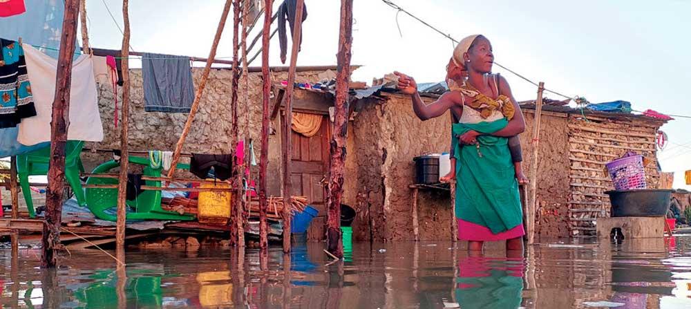 Mosambik: Hilfsaktion für Zyklonopfer
