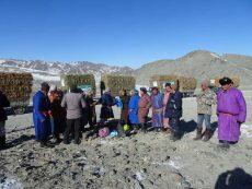 Grimmige Kälte im Hohen Altai!